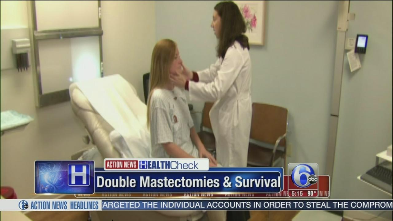 Study: Double mastectomies dont improve odds