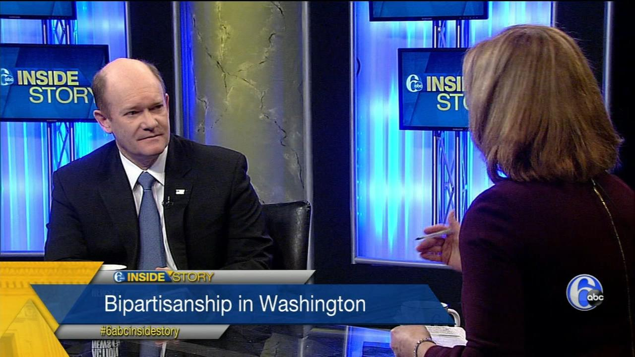 Sen. Chris Coons joins Monica Malpass on Inside Story