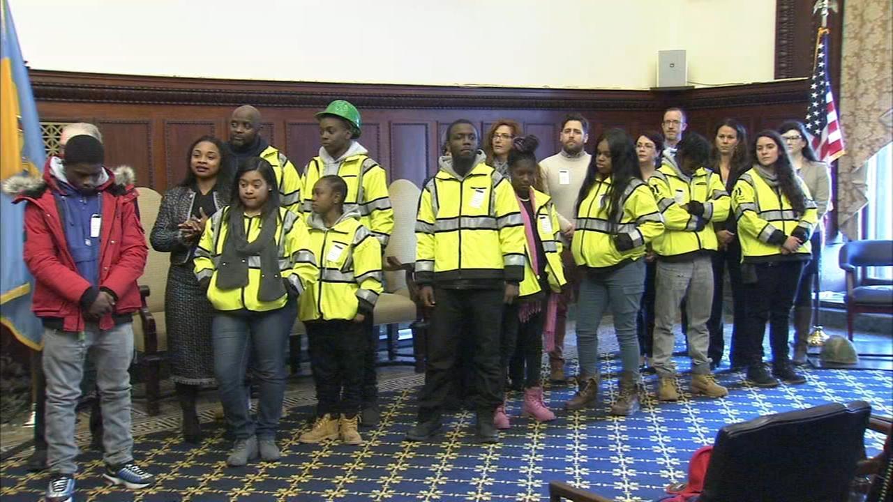 Philadelphia youth employment initiative