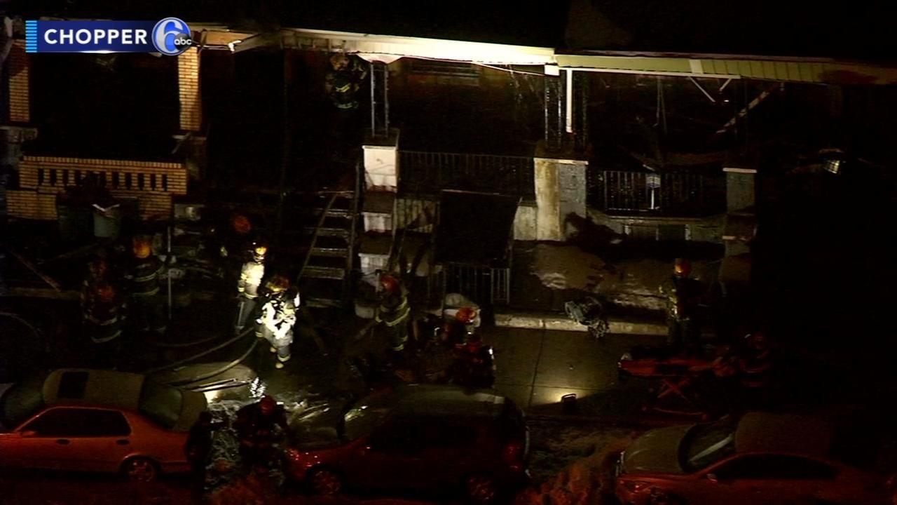 2 children injured, dog killed in West Philadelphia fire
