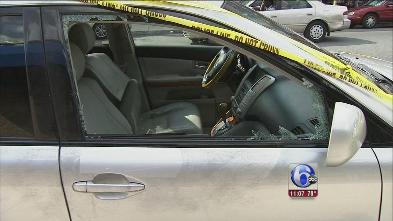 VIDEO $140K stolen from SUV in West Philly
