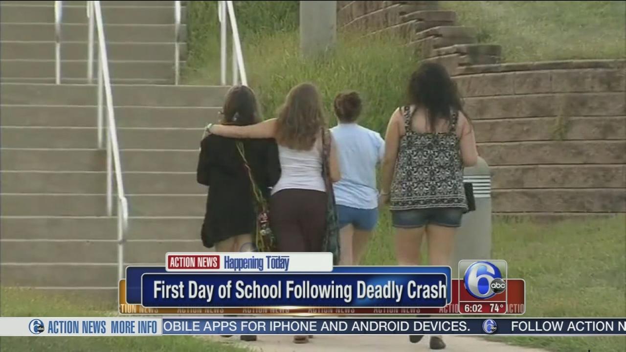 VIDEO: Classmates return after deadly crash