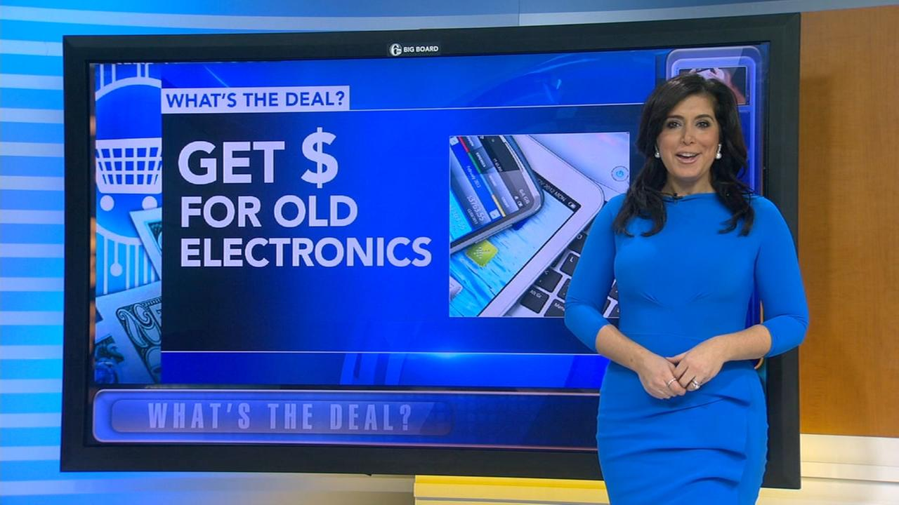 Whats the Deal: Recycle your old electronics for cash