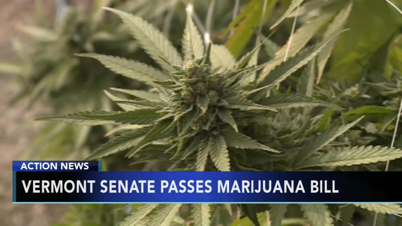 Vermont poised to enact legal pot through Legislature
