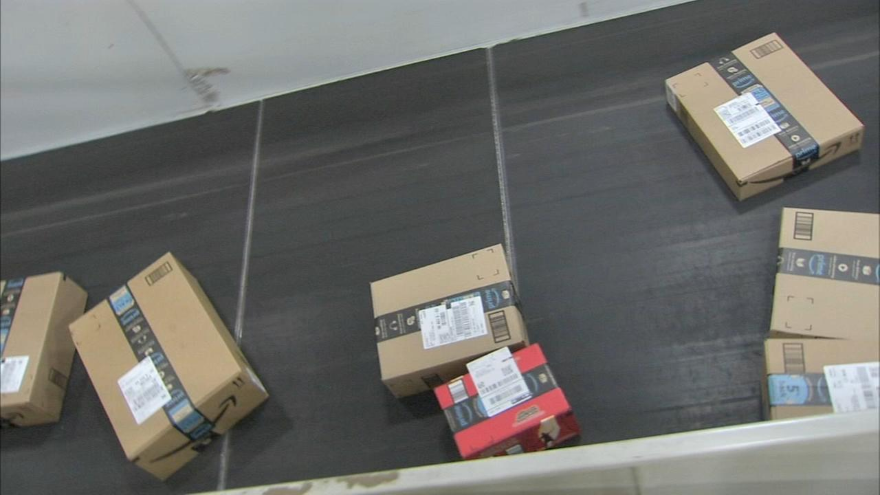 Contracted driver dumps Amazon packages in Roxborough
