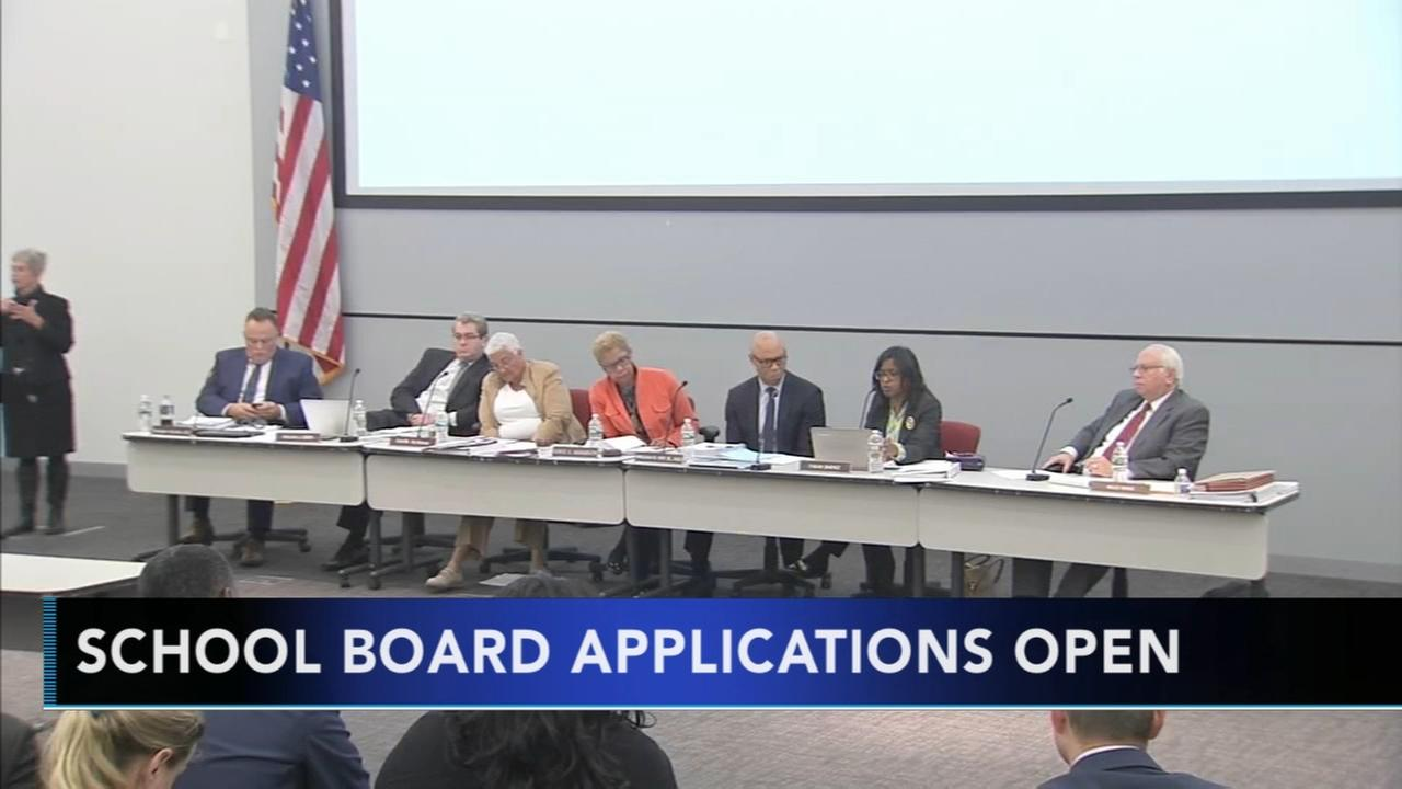 School board applications open
