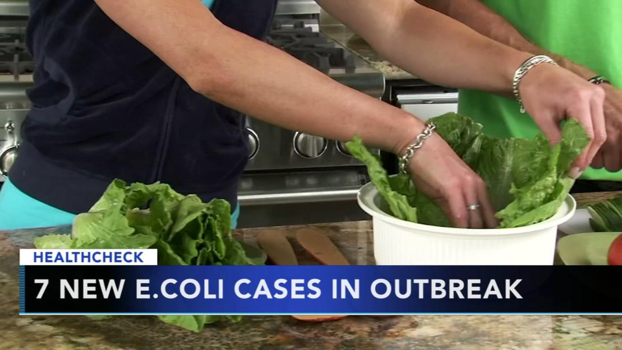 7 new cases in E. coli outbreak linked to romaine lettuce