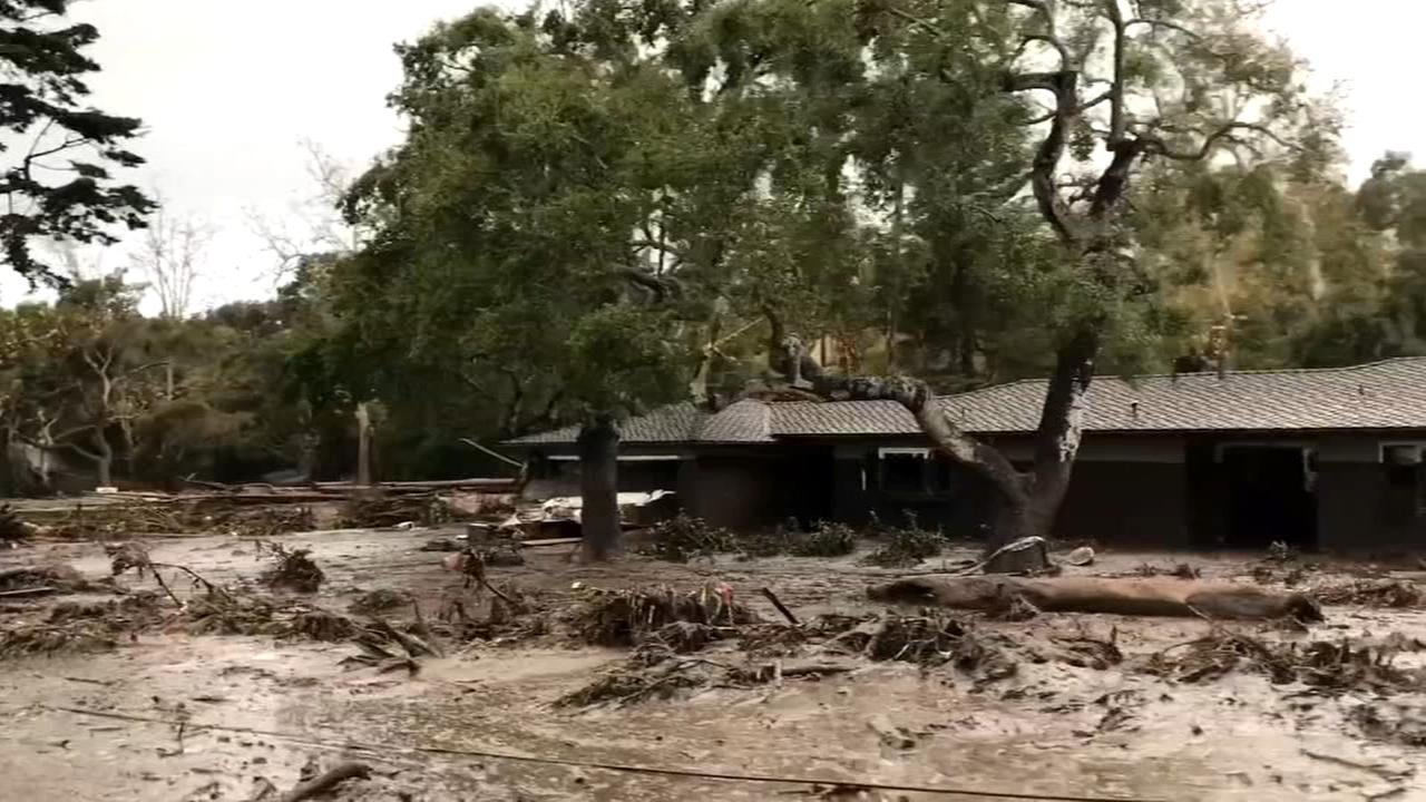 Search goes on for Calif. mudslide victims