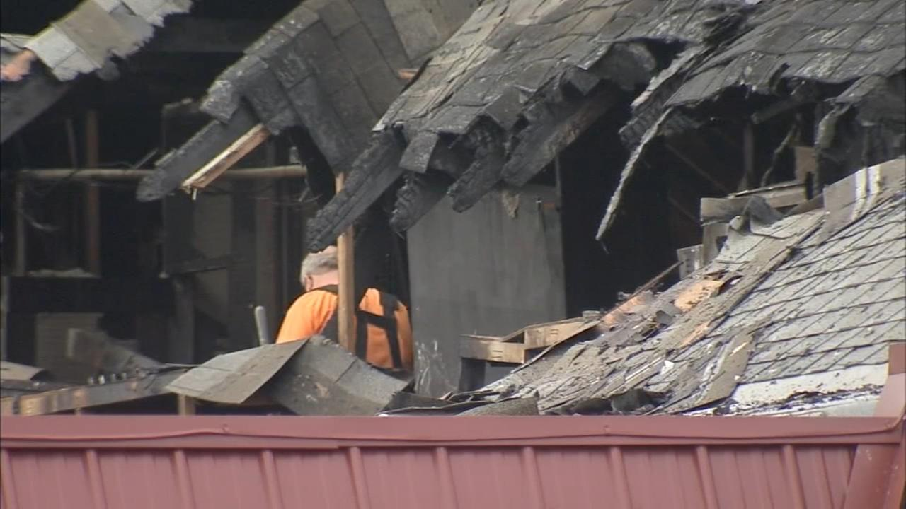 Fire damages Country Town Diner in Berlin, NJ