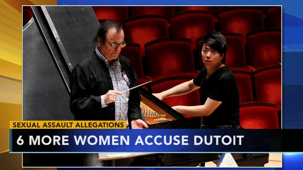 Six more women accuse Dutoit