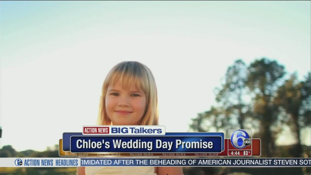 VIDEO: The story of little Chloes wedding day