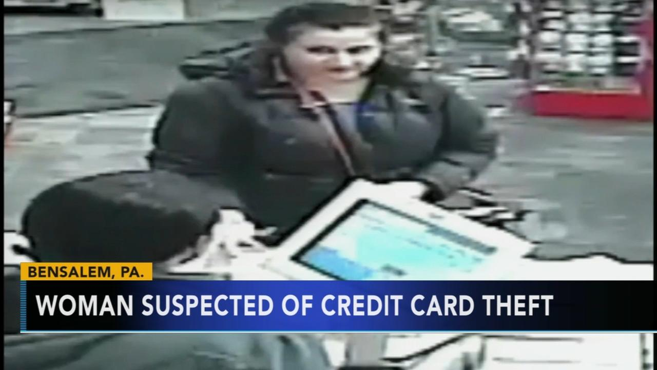 Police: Woman sought for credit card fraud in Bensalem