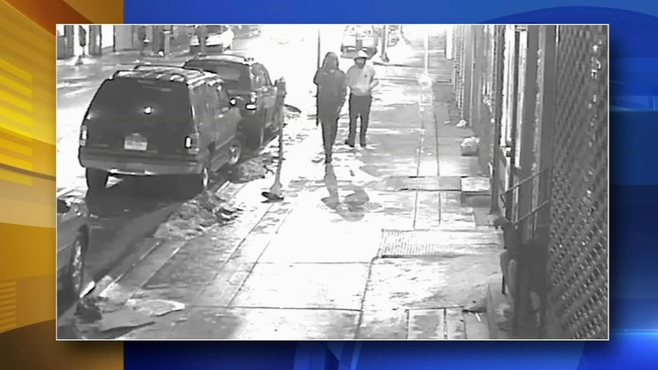 Victim shot trying to stop robbery in North Philly