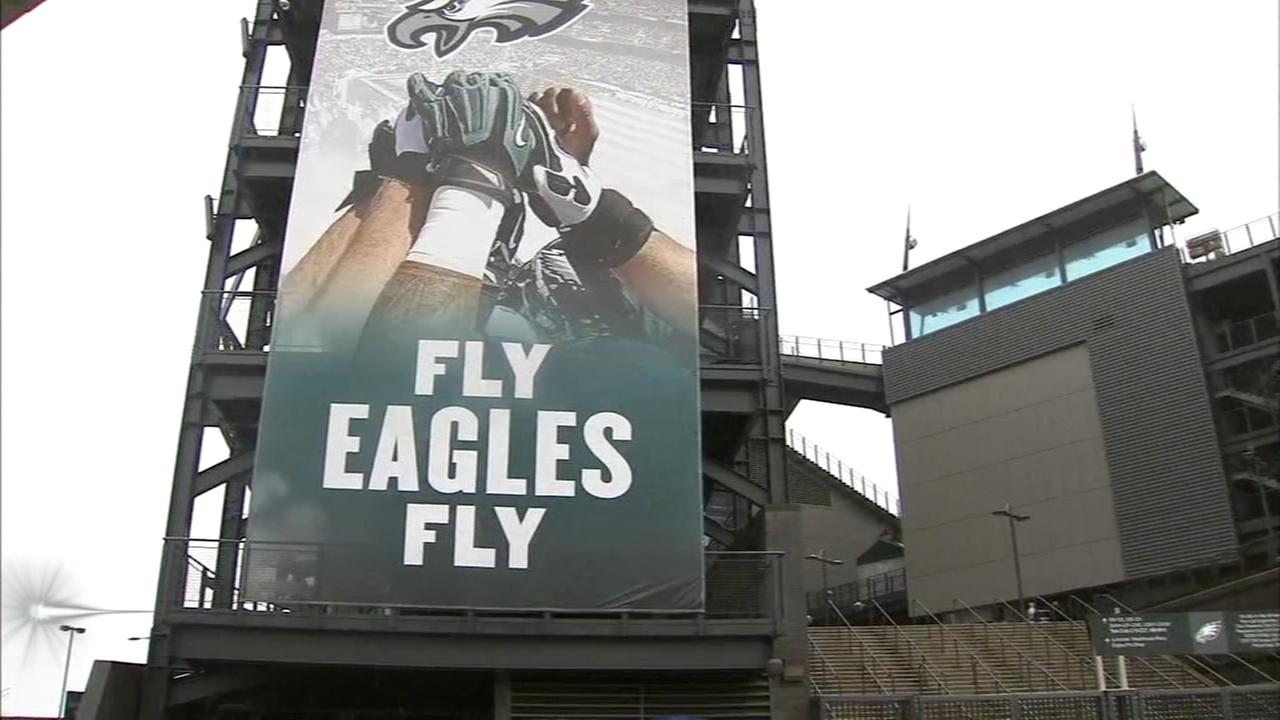 Excitement builds for Eagles players and fans