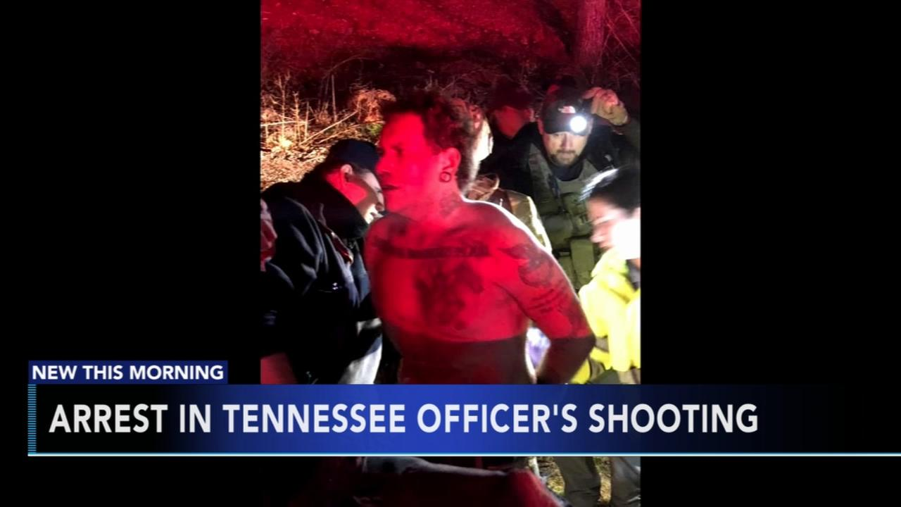 Police arrest white supremacist wanted in connection with shooting of Tennessee officer
