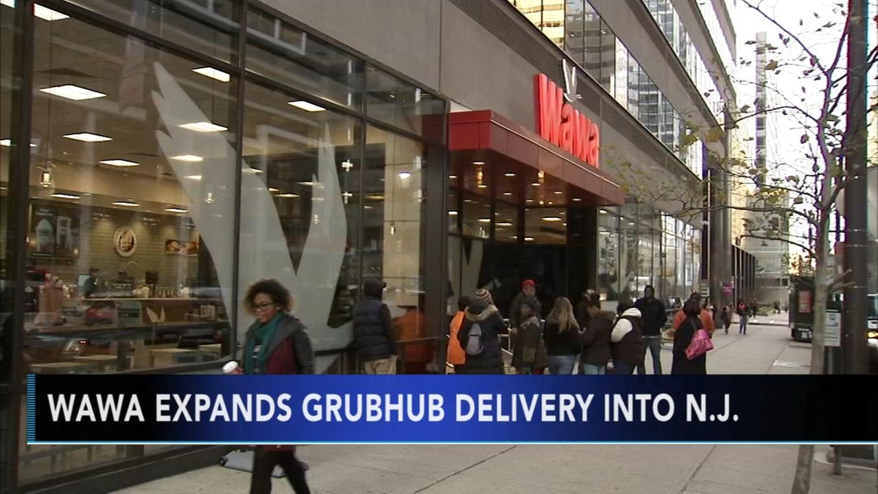 Wawa expands GrubHub delivery to New Jersey