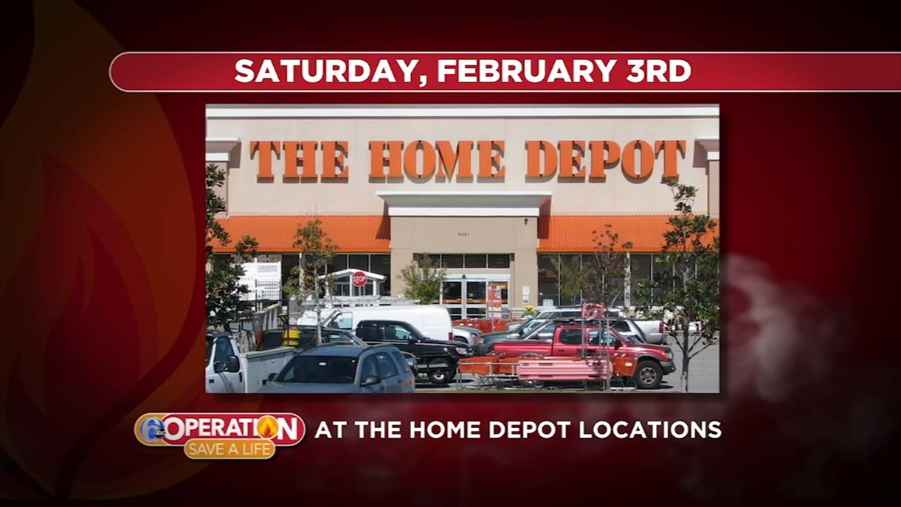 Save A Life Saturday at The Home Depot