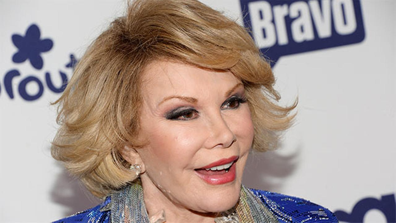 Joan Rivers has passed away.