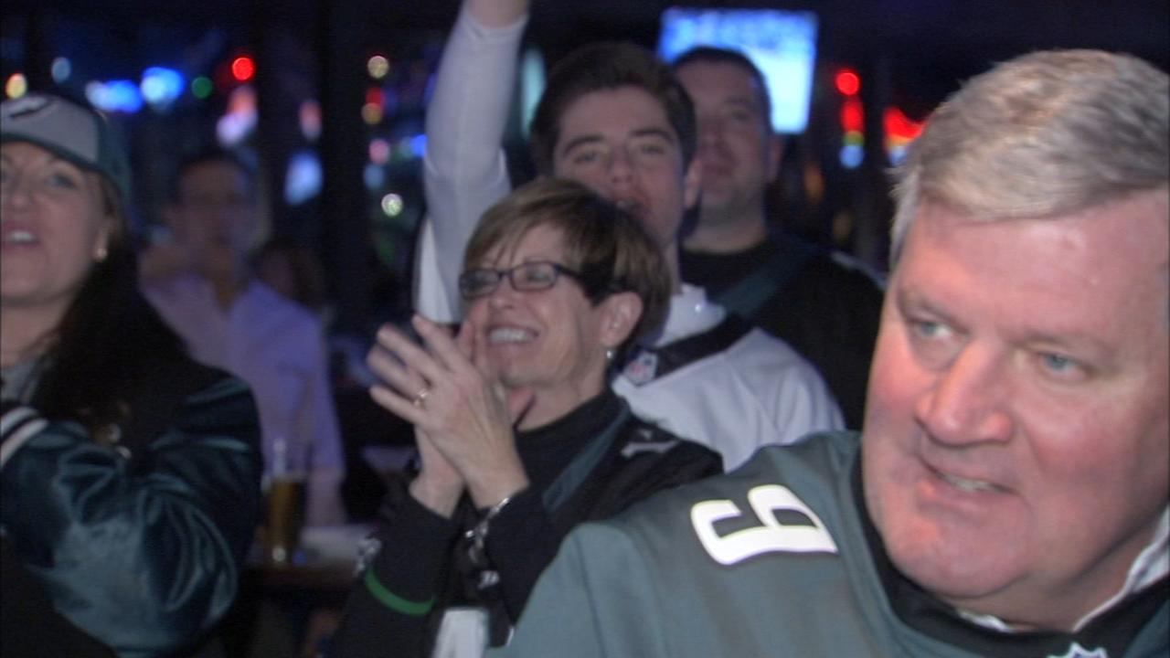 Eagles fever continues in the city