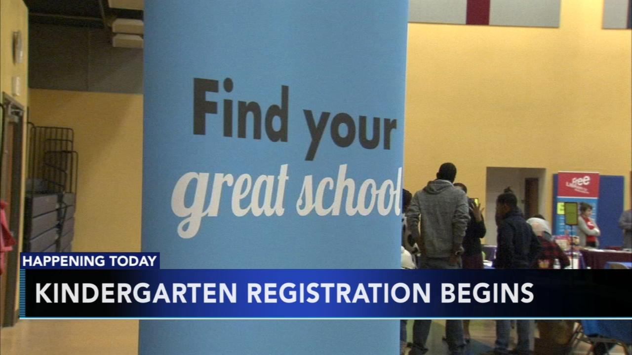 Registration opens for kindergarten in Philly