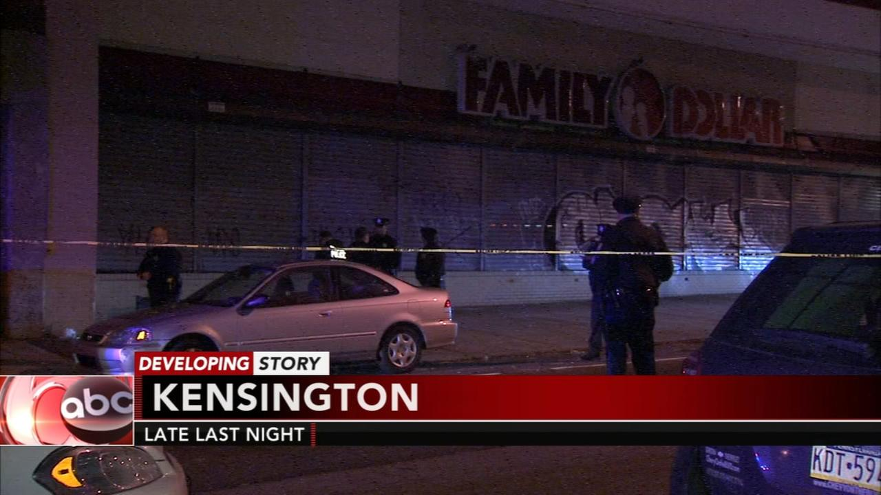 Security guard shoots robbery suspect in Kensington