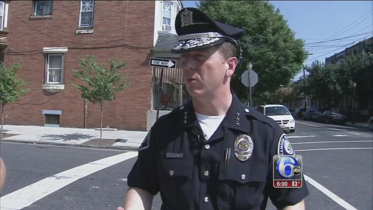 VIDEO: Stats show overall crime down 30 percent in Camden