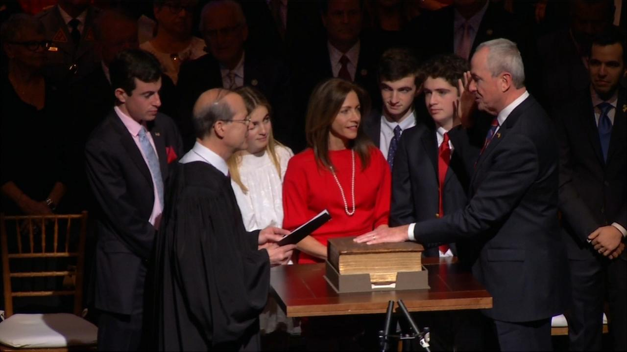RAW VIDEO: NJ Gov. Phil Murphy sworn in