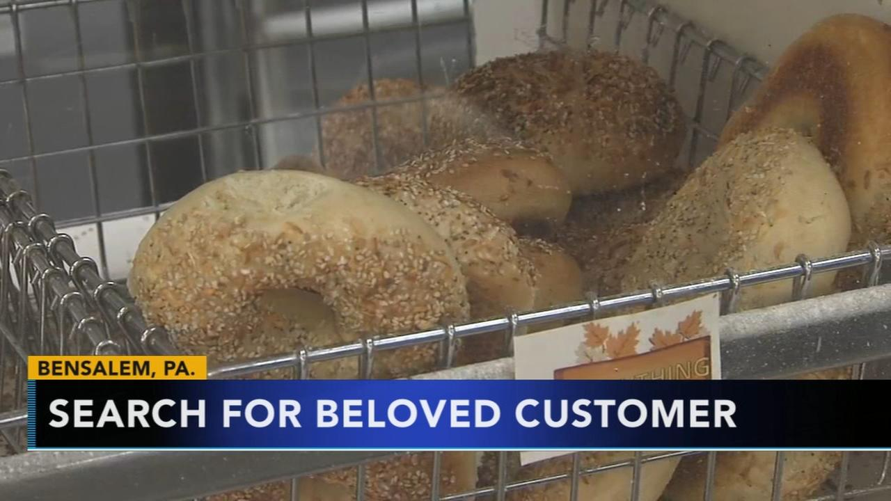 VIDEO: Bagel shop searches for beloved customer