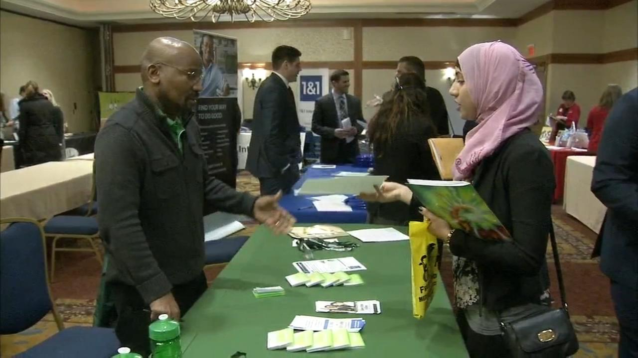 Job Seekers flock to King Of Prussia Job Fair