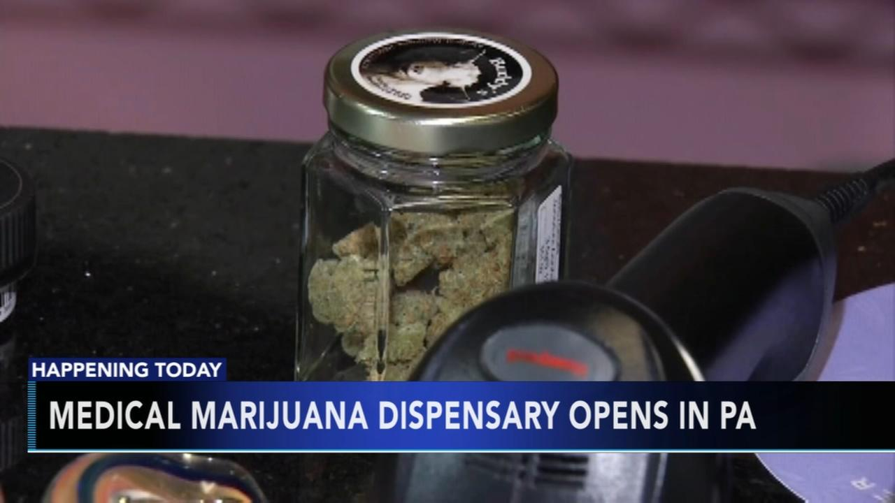 1st medical marijuana dispensary in Pa.