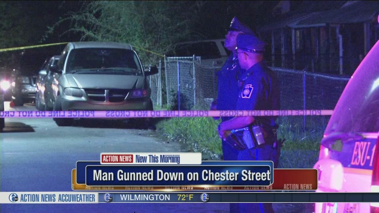 VIDEO: Man shot dead getting into car in Chester