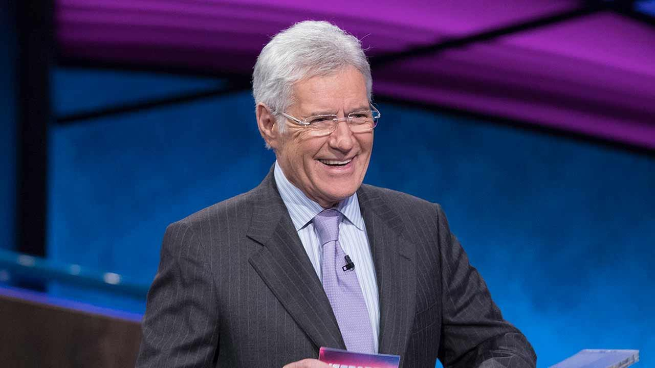 Pictured: Jeopardy host Alex Trebek