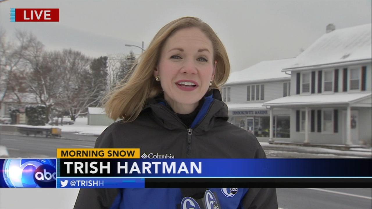Trish Hartman reports from Whitehall Township, Pennsylvania