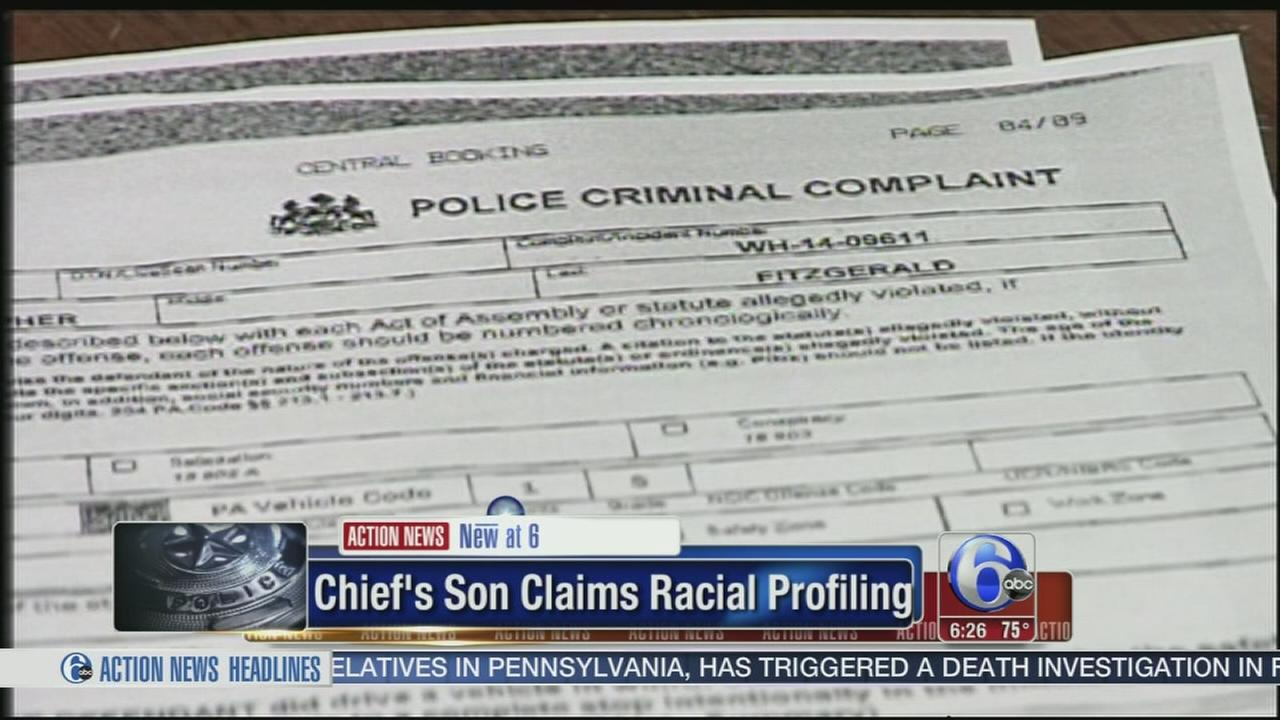 VIDEO: Defense: Police chiefs son was racially profiled
