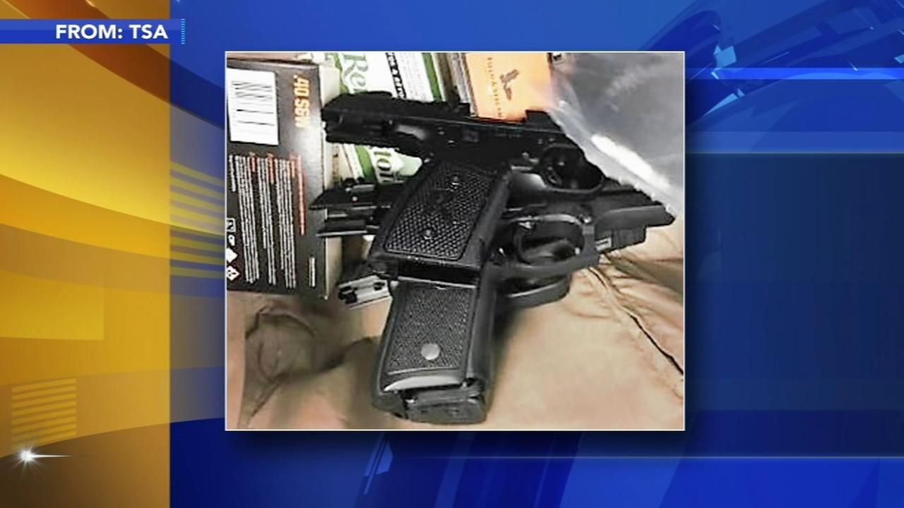 Bucks man allegedly sneaks guns, ammo through airport