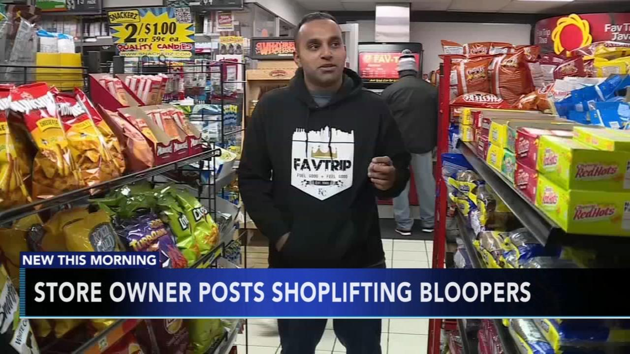 Store owners posts shoplifting bloopers