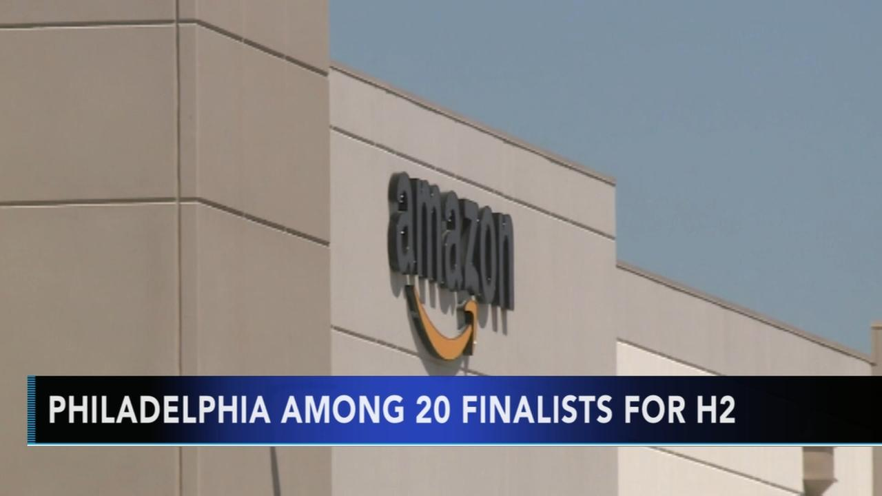 Philly among Amazon H2 finalilsts