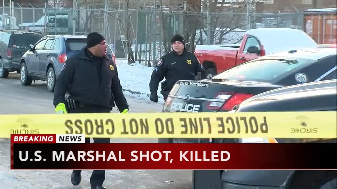 US Marshal shot and killed in Harrisburg