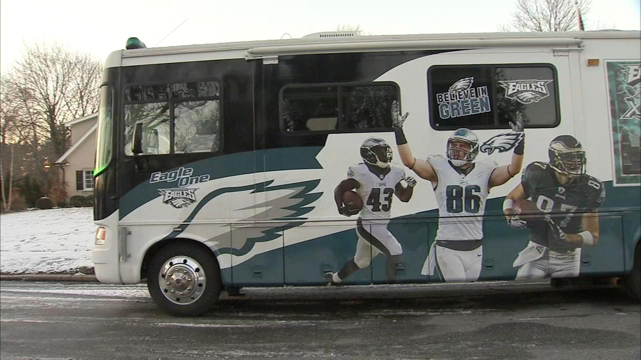 Taking Eagles mania on the road