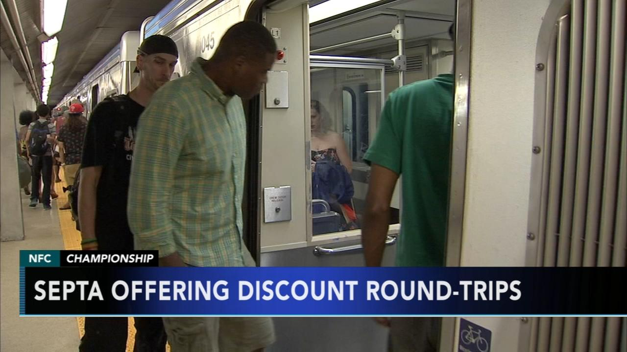 SEPTA offers Eagles game discounts