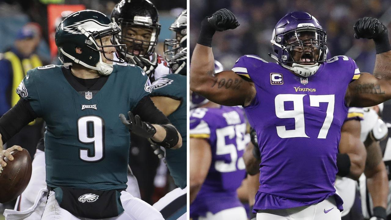 Aggressive Philadelphia Eagles to face Minnesota Vikings' top-ranked defense