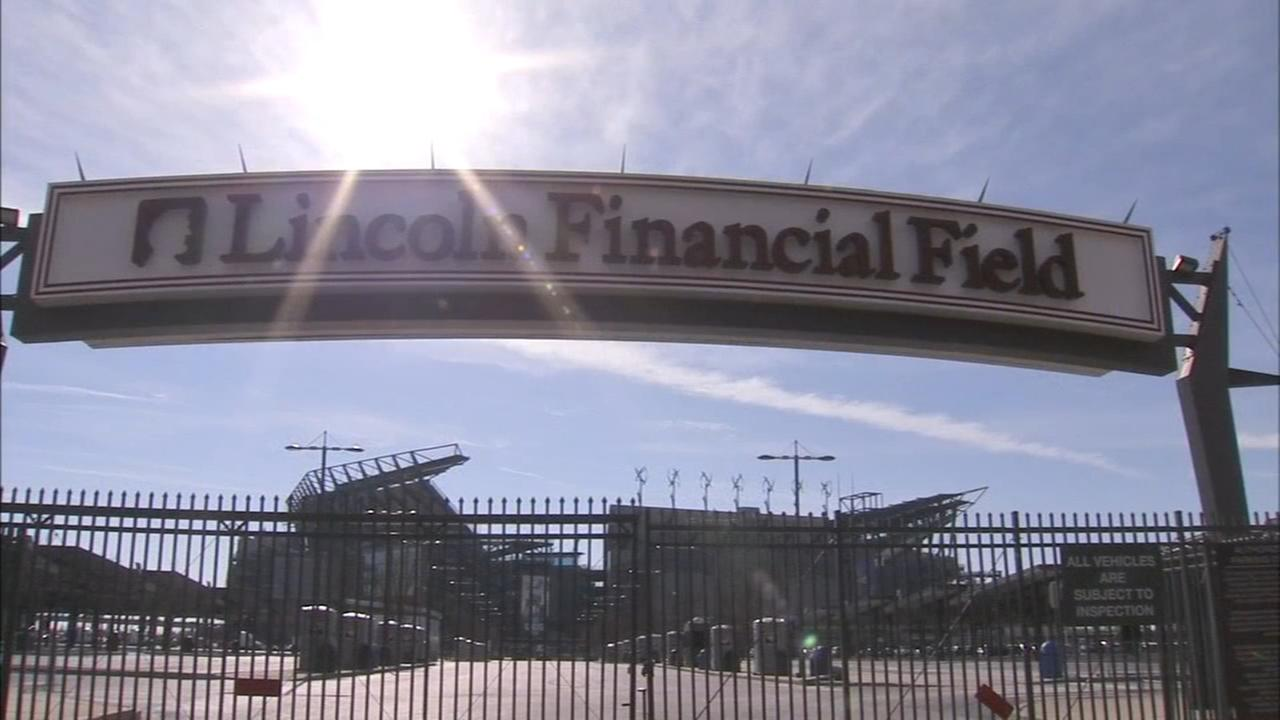 Parking at Lincoln Financial Field to open in phases on Sunday