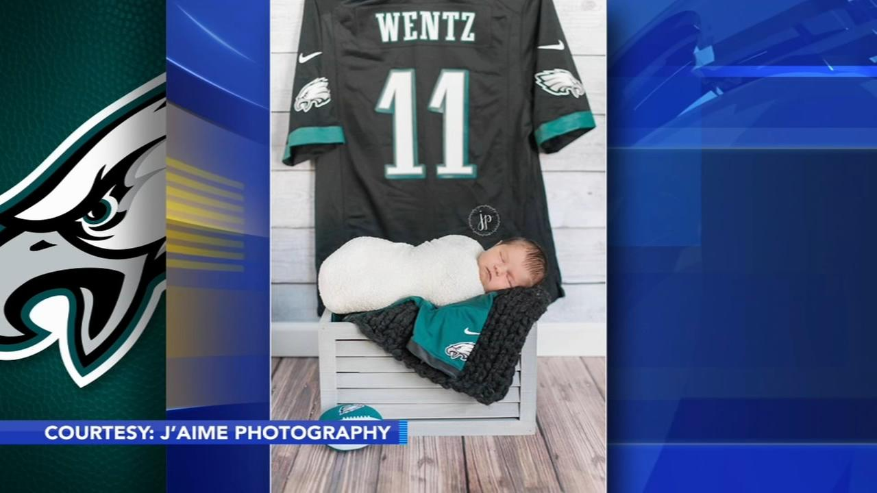 Baby girl named after Carson Wentz