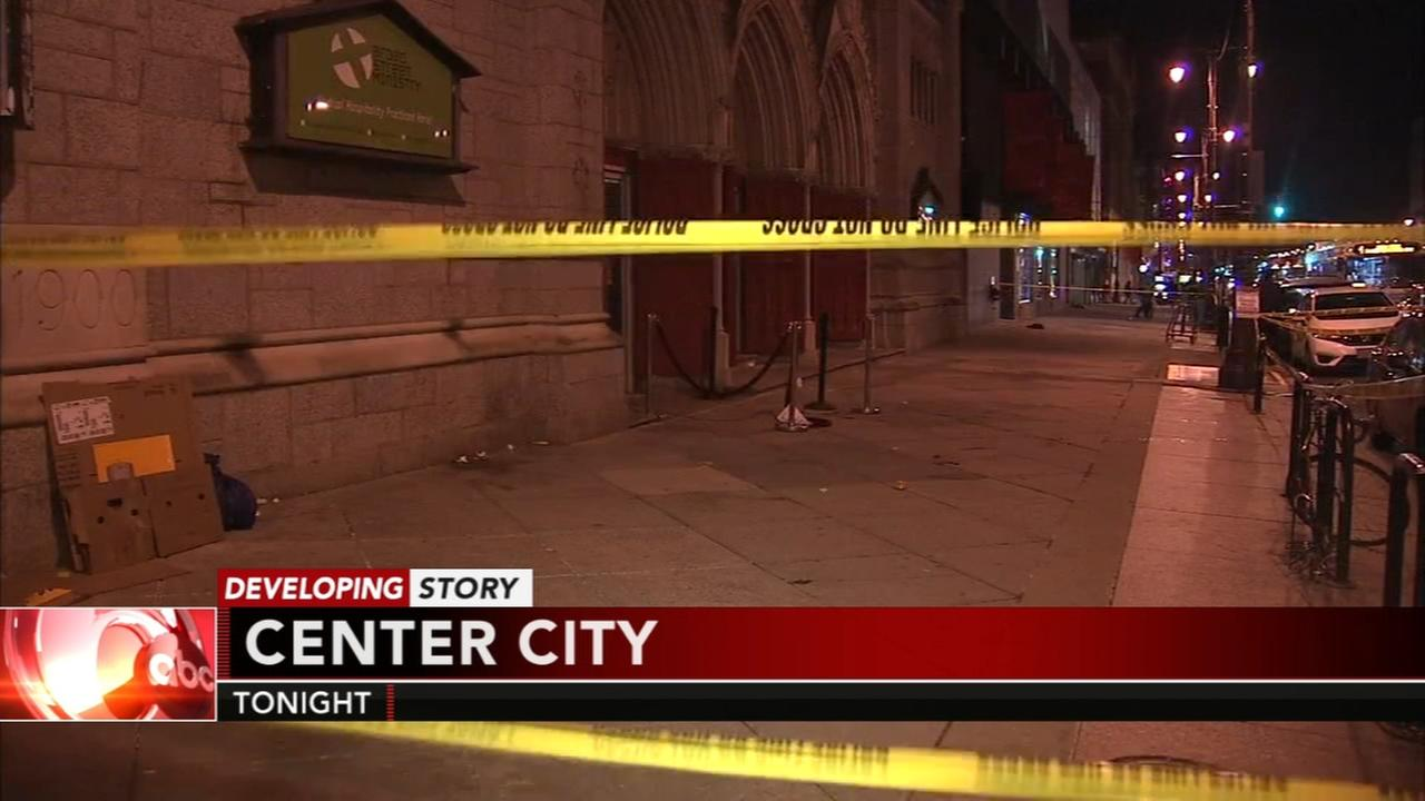 2 people critical after stabbing in Center City