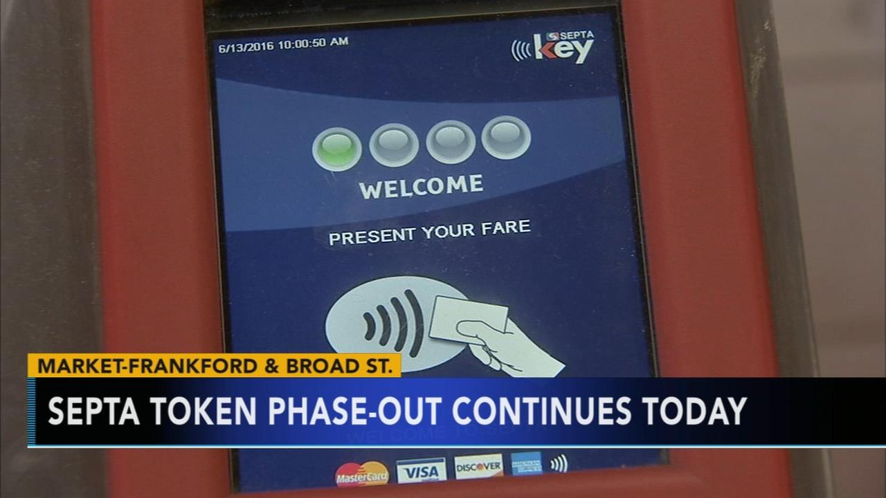 SEPTA phasing out token continues