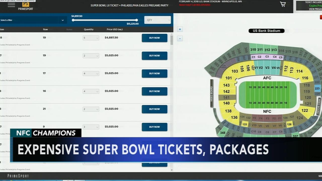 Eagles release Super Bowl ticket info