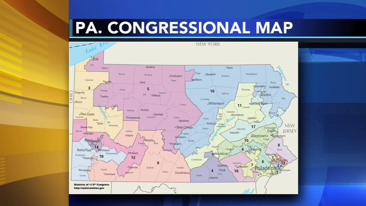 PA Congressional map ruled unconstitutional