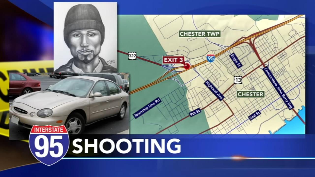 Man shot at car on 95