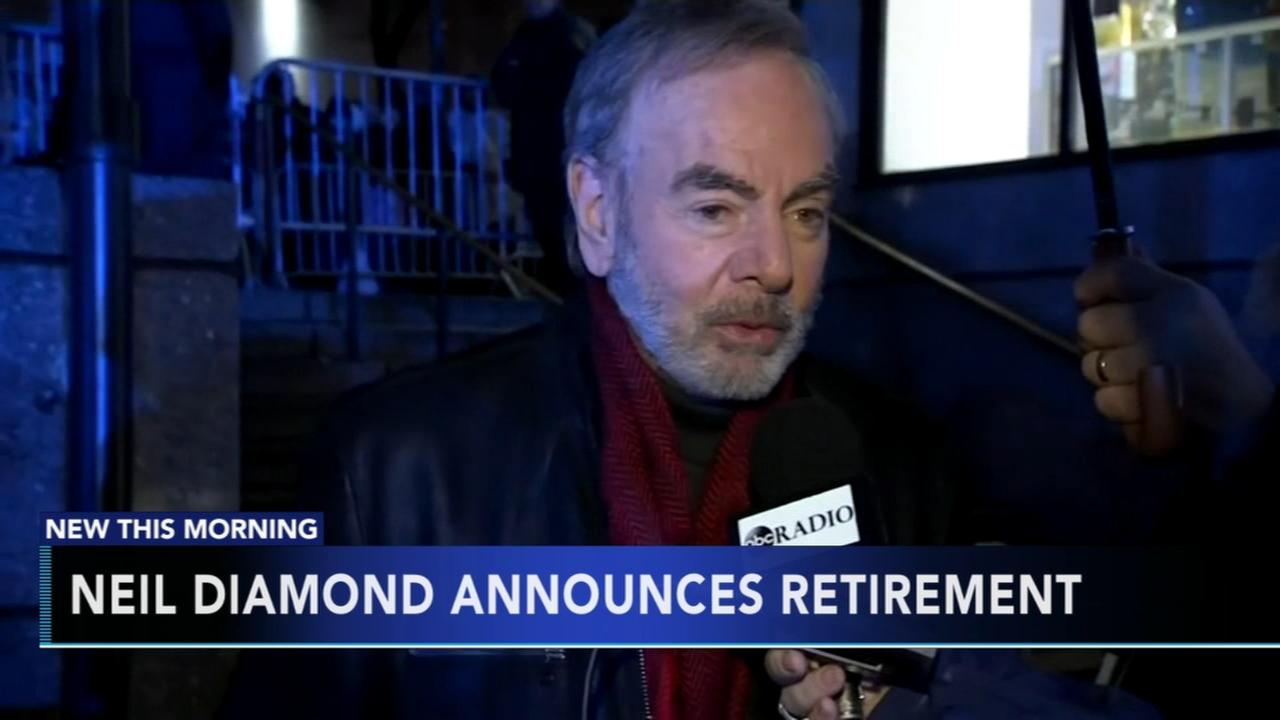 Neil Diamond announces retirement