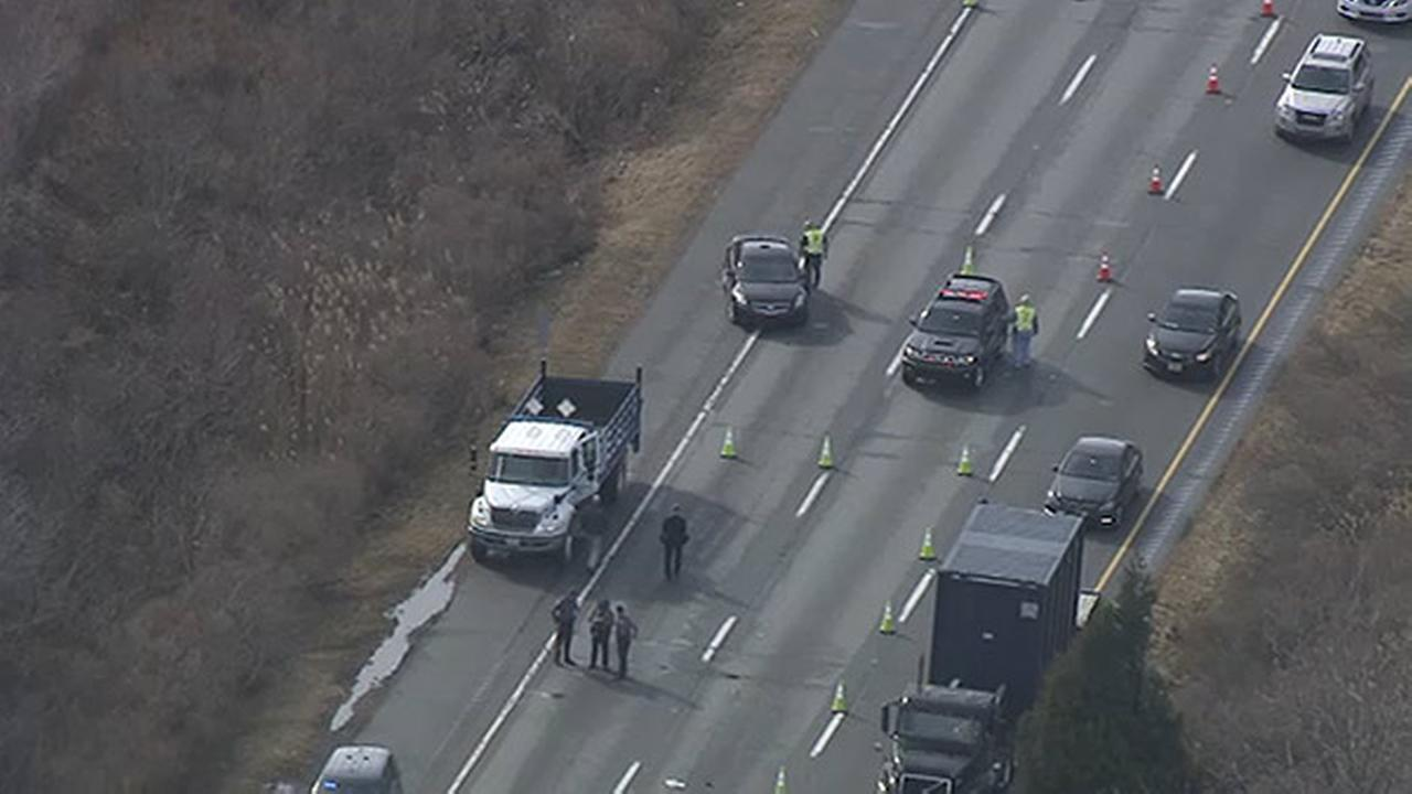 Northbound lanes reopen after Crash on I-95 in Upper Chichester